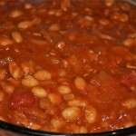 baked beans with mesquite