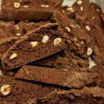 biscotti with chocolate & hazelnuts
