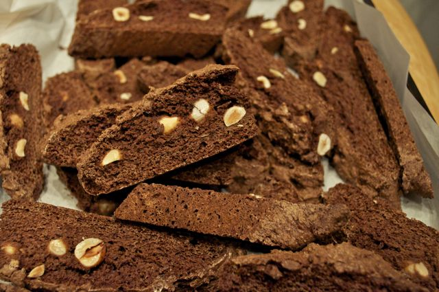 biscotti chocolate hazelnut - 16