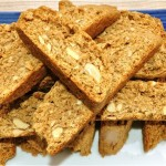 biscotti with spices, almonds & oatmeal