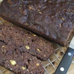 zucchini, chocolate, coconut, nut bread