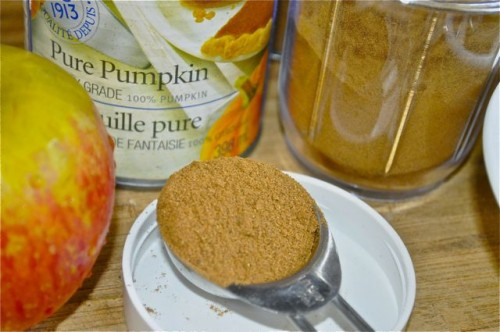 spice blend: apple pumpkin pie