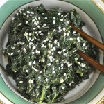 spinach salad asian-style