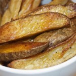 potato fries roasted in the oven