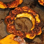 squash slices grilled or roasted