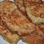 french toast with cinnamon