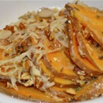 sweet potato gratin with rosemary & garlic