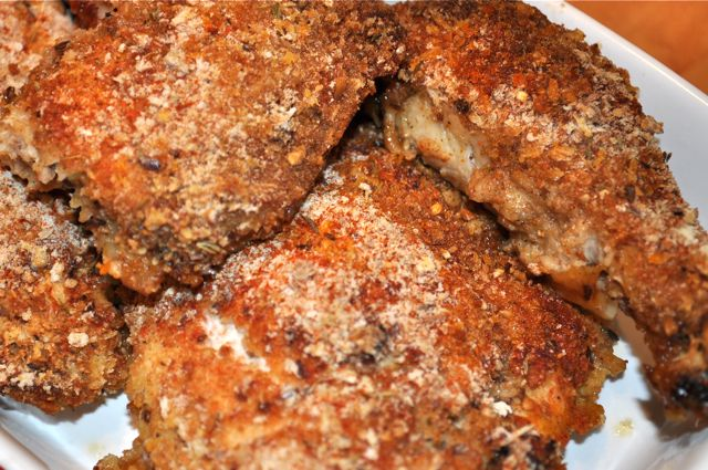 Buttermilk Oven-Fried Chicken