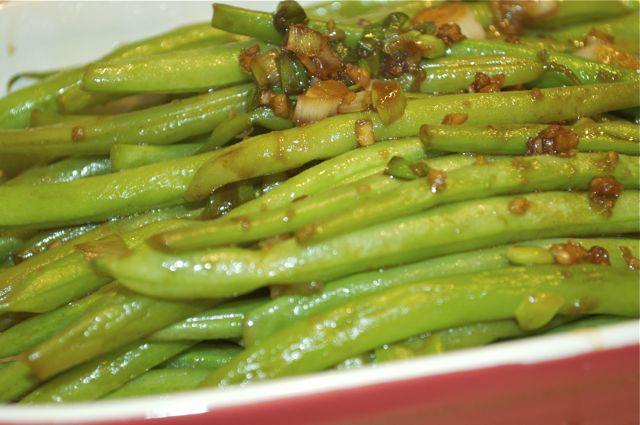 green beans feature