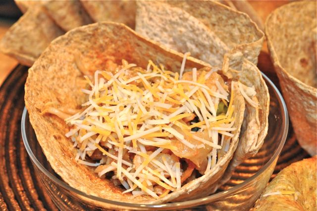 tortilla bowls/ feature