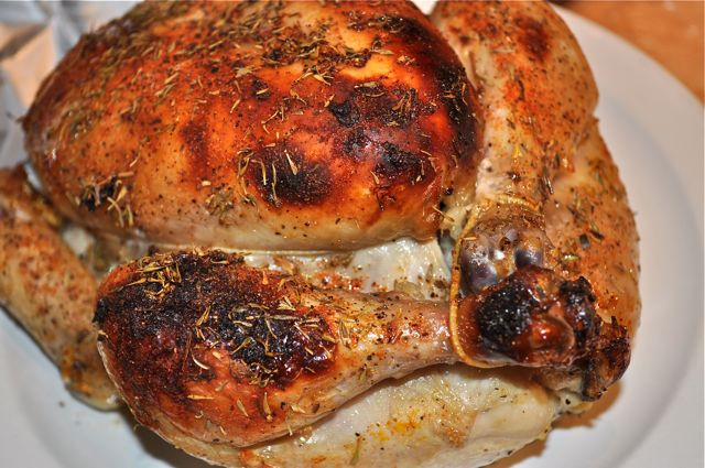 citrus roast chicken/feature